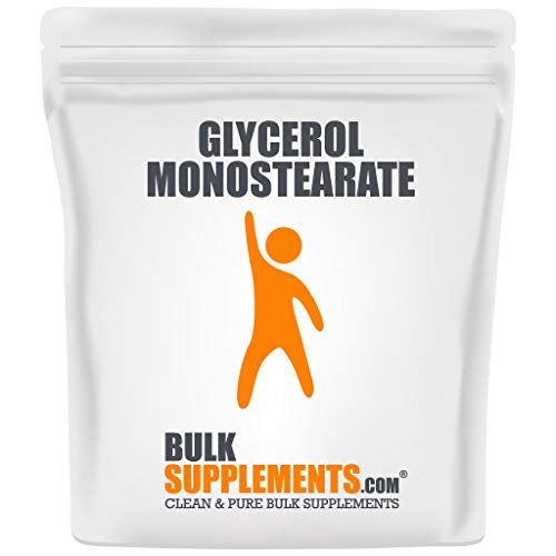 BulkSupplements Glycerol Monostearate (333 Servings)