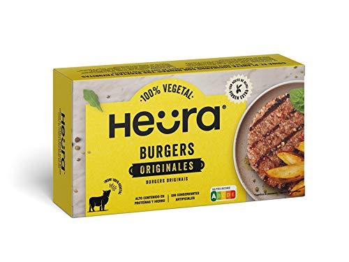 Heura Hamburguesa Vegetal, 220g (Congelado)