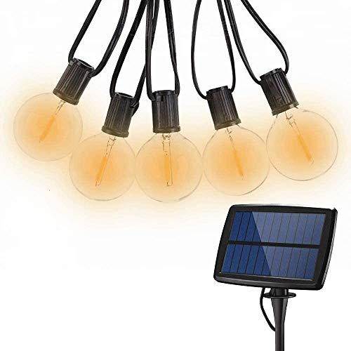 Solar llevada del globo cadena luces al aire libre, a prueba de agua de jardín luces decorativas de interior/exterior for jardín Gazebo Patio Bistron