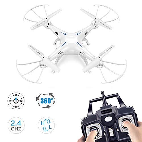 Drohne,Mit 2,4 G HD Quadcopter 2,0 MP Kamera, RTF RC Hubschrauber, vierachsigem Luftflugzeug und Funktion zur Wartung der Flughöhe