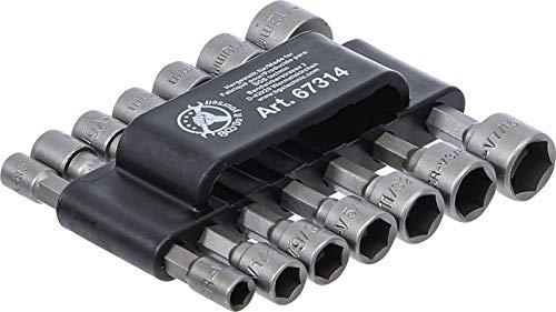 Kraftmann 67314   Steckschlüssel-Bit-Satz   Antrieb Außensechskant 6,3 mm (1/4