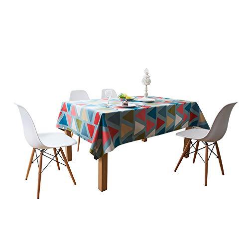 HUIFANG Nappe Tissu Épaississement Restaurant Nappe Meuble Tv Couverture Rectangulaire Serviette Gros Ménage Salon Table Basse Nappe HUIFANG (taille : 140 * 140cm)