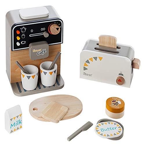 Howa Máquina de café y tostadora de madera