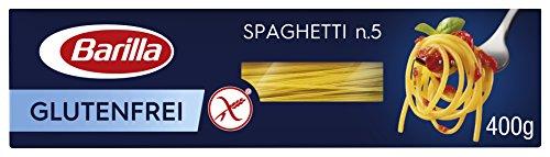 Barilla Pasta Spaghetti n. 5 glutenfrei aus Reis und Mais – 12er Pack (12x400g)
