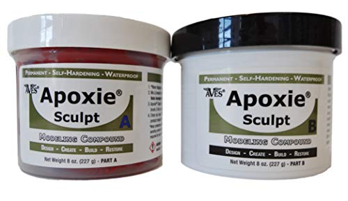 Avesstudio Apoxie Sculpt 2 Komponenten Modelliermasse - rot ca 450gr / 1 US Pfund
