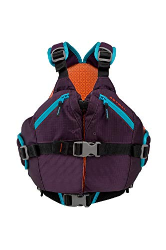 Astral Kids Otter 2.0 Life Jacket PFD for Whitewater, Sailing, and Stand Up Paddle Boarding, Fits Youth 50-90 lbs, Eggplant