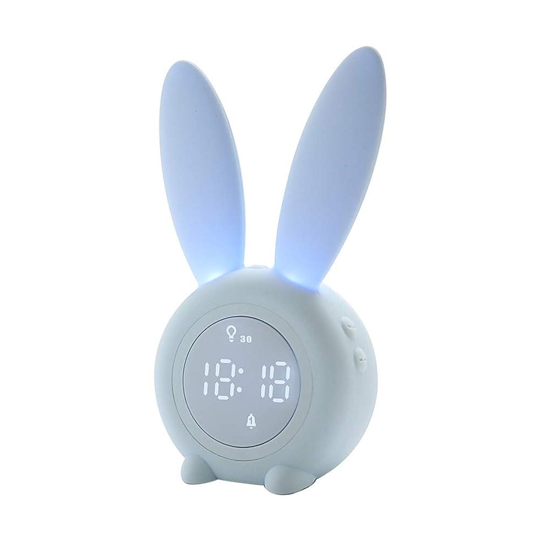変な形容詞密輸LITI 目覚まし時計 光 目覚ましライト 大音量 USB充電 デジタル おしゃれ ボーッとしない 間接照明 ベッドサイドランプ