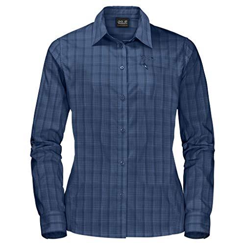 Jack Wolfskin Damen Centaura Flex Shirt, Porcelain Blue, XXL