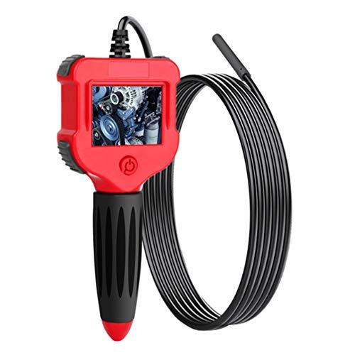 ULTECHNOVO Endoskopkamera HD Wasserdichte Schlangenkamera LCD-Bildschirm Schlangenkamera Video Endoskop Weicher Draht 3M