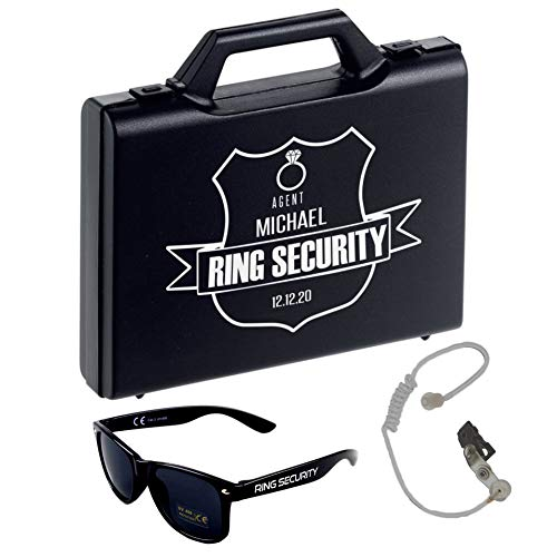 Ring Security Glasses - Agent Ear Piece - Wedding - Page Boy Accessory...