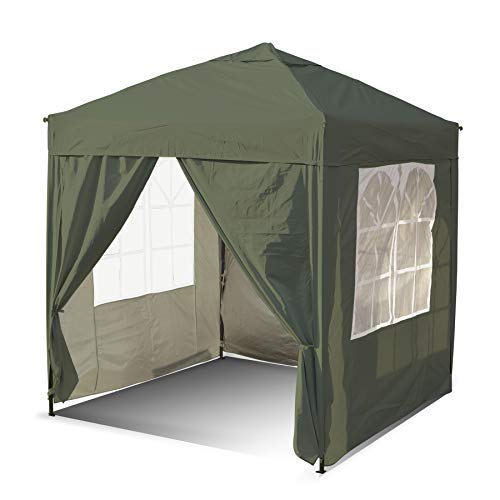 SANHENG Pop Up Gazebo, Pop Up Tent with Weights, Fully Waterproof, All Weather Gazebo ideal for Outdoor Party Camping