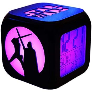 Joy Toy Star Wars - Reloj Despertador Digital con LCD y proyección ...