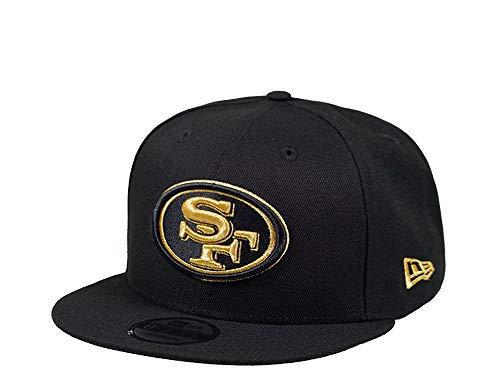 New Era San Francisco 49ers Black and Gold Edition 9Fifty Snapback Cap - NFL Kappe