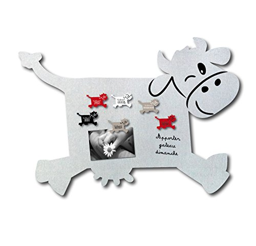 Tableau magnétique Vache Bruit de Cadre