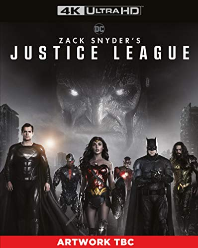 Zack Snyder's Justice League [4K Ultra HD] [2021] [Blu-ray] [Region Free]