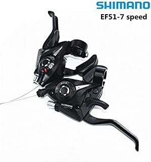 Enchante Jerry Bicycle Derailleur - EF-51 Bike Bicycle Shifter/Brake Lever Combo 3 x 7speed Shifter (3 x 7 Speed/8 Speed) 1 PCs