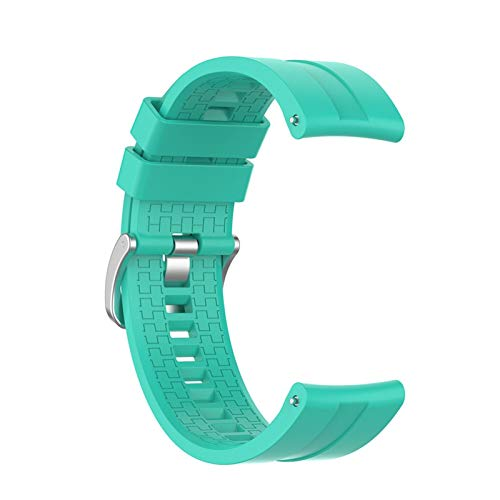 LAAGFC Correa de reloj de 22 mm para Huawei Watch GT 2, 46 mm/42 correas para pulsera inteligente Honor Magic (color de la correa: verde menta, ancho de la correa: Huawei Watch GT)