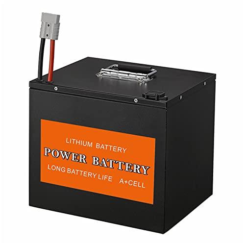 JHKGY Paquete De Batería De Iones De Litio De 48V 65AH / Lifepo4,para Motor De 800W ~ 1200W,Adecuado para Carretilla Elevadora De Batería Eléctrica, Barredora, Vehículo De Limpieza, Rociador