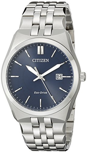Citizen Men's Eco-Drive Stainless Steel Watch with Date, BM7330-59L