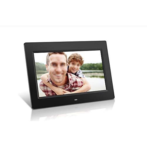 Digitale fotolijst LCD, groot display, hoge resolutie, weergave van muziek, MP3- en HD-video's, automatische timer, slank design.