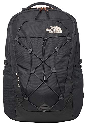 The North Face Women's Borealis Backpack, TNF Black/Rose Gold, One Size
