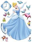 Wandtattoo Cinderella Hellblau - 600191 - von Disney