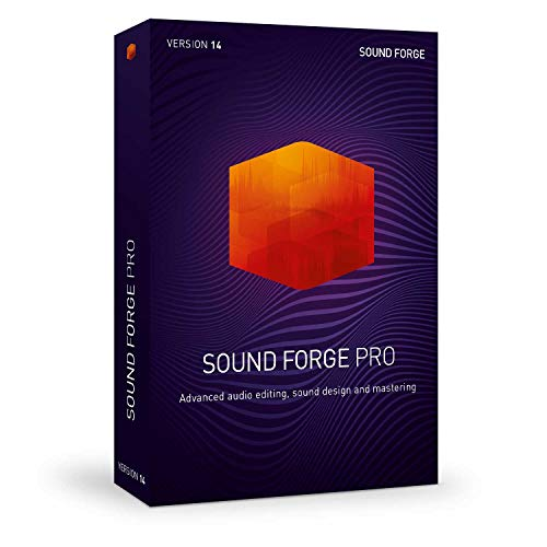SOUND FORGE Pro|14|1 Device|Perpetual License|PC|Downl