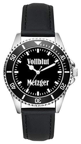 Geschenk für Metzger Fleischer Schlachter Beruf Uhr L-2177