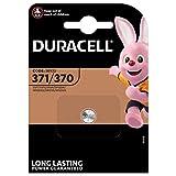 Duracell, batteria SR920SW, batteria 371 SB-AN per orologio, ossido d'argento, 1,55 V, confezione a blister