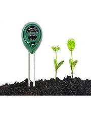 Abafia Bodemtester, bodemvochtigheid en PH, lichtintensiteit bodemtester, geen batterijen nodig, kan binnen en buiten worden gebruikt, voor plantenaarde, boerderij