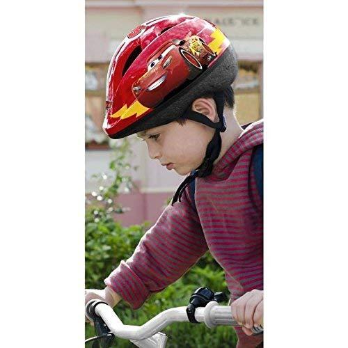 StampC893100SCars– Casco per Bicicletta, 54-56 cm