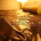 Leaysoo Sexy Lenzuola 82,6 × 82.6Inches Indoor Coppie all'aperto Flirtare Impermeabile Materasso di Massaggio Spa