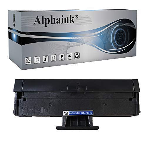 Alphaink Toner compatibile con MLT-D111S e MLT-D111L per Stampanti Samsung Xpress SL-M2020w, SL-M2022, SL-M2022W, SL-M2070, SL-M2070FW, SL-M2070W, 1.800 Copie