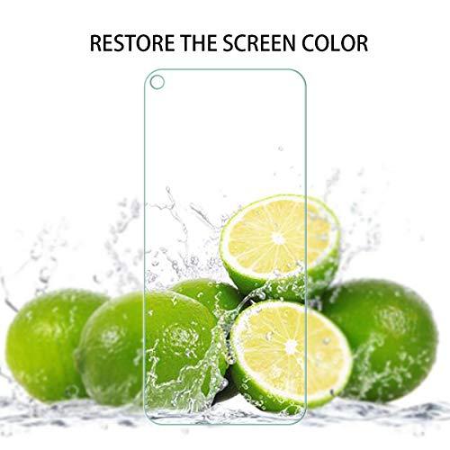 GEEMEE (2 Pack Schutzfolie für Huawei Honor 20 /Huawei Honor 20 Pro/Huawei Nova 5T, 9H Filmhärte Gehärtetem Schutzglas Hohe Empfindlichkeit Panzerglas Displayschutzfolie (Transparent) - 5