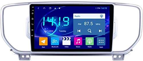 IW.HLMF El Reproductor Multimedia de navegación con Control Central para automóvil es Adecuado Compatible con KIA KX5 2016-2018 Navegador GPS para automóvil Control Central Pantalla Grande 4G + 64G