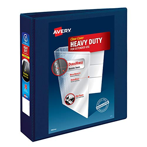 Avery Heavy Duty View 3 Ring Binder, 2