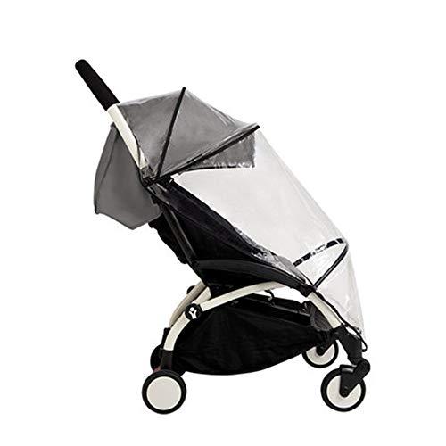 LJPzhp-Baby Poussette Protection Pluie Poussette Rain Cover Trolley Accessoires Housse de Pluie Weatherproof Couverture Transparent Pare-Brise Universel (Couleur : 01, Taille : Taille Unique)