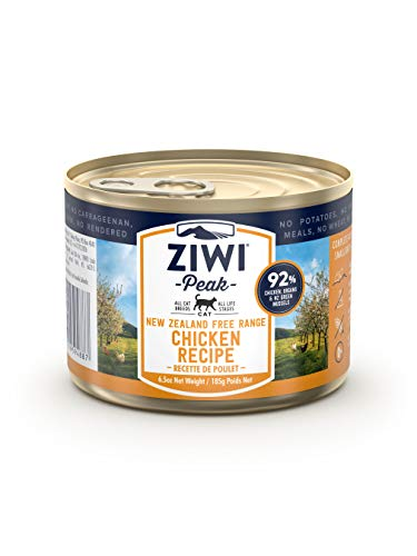 Ziwi | Canned Cat Food Free-Range Chicken | 12 x 185 g