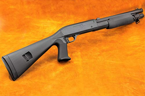 Pistola de guisantes M56A GE Multishot, cartucho de escopeta de energía < 0,5 julios, bolas de plástico de 6 mm