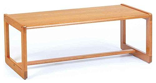Lesro Coffee Table w Sled Base - Classic (Medium)