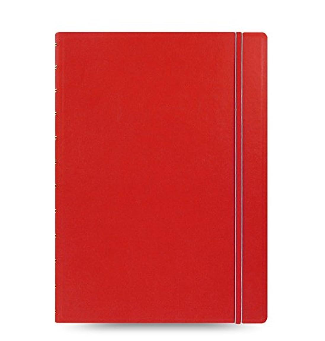 グレード修士号弾丸ファイロファックス ノートブック NoteBooks A4 Red ノートブック 115023 filofax