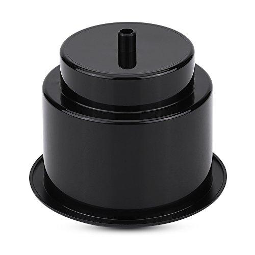 Universele bekerhouder van kunststof voor boten van RV kan in het universele afvoergat gestoken worden. default Zwart