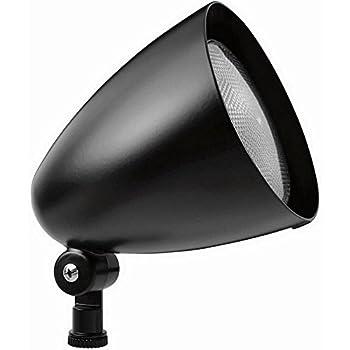 Rab #HB101-B Bullet Shaped Floodlight Fixture w/out 150W PAR38 lamp 120 volt Black
