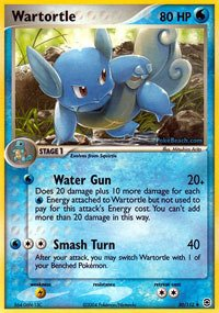 Pokemon - Wartortle (50) - EX FireRed & LeafGreen
