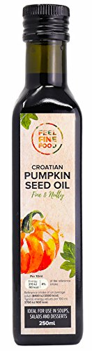 Feel Fine Food Pumpkin Seed Oil, Pure and Unrefined, Styrian Type Seeds 250 ml