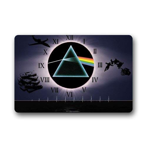 Rutschfester Rückseite,Luase Fußmatte Dekor Teppiche Personalisieren? Fußmatten Pink Floyd Dunkle Seite Des Mondes Maschinenwaschbar S Indoor Outdoor Haus Fußmatten Teppiche Eingangsmatten 60 X 40 Cm