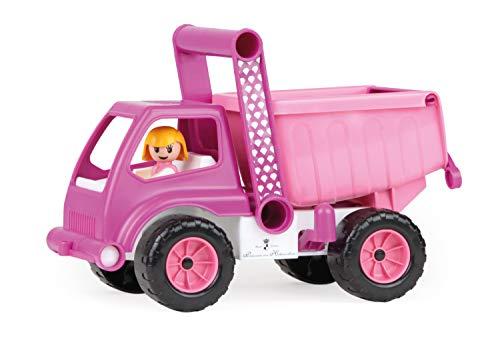 Lena 4101 Baufahrzeug, Pink, Rosa