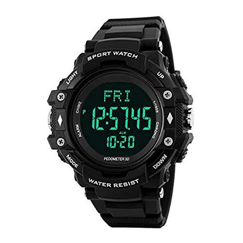 Multifuction Digitale Outdoor Sport Horloge met Stappenteller Hartslagmeter Elektronische Sport Horloge voor Jongens Tieners Junior Mannen Vrouwen