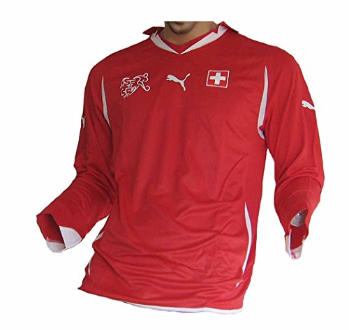 Schweiz Trikot Spieleredition Langarm 2010/12 Puma Größe L