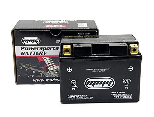 MMG YTZ12S Gel Cell Sealed Powersports Battery for Motorcycles Scooters ATV UTV | Replaces: PTZ12S, GTZ12S-BS, FAYTZ12S, M7212A, CTZ12S